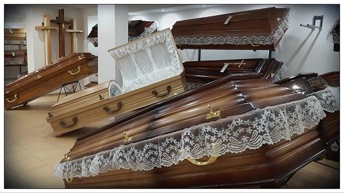 zakłady pogrzebowe w skórczu